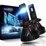 NINEO H7 LED Headlight Bulbs | CREE Chips 12000Lm 6500K Extremely Bright All-in-One Conversion Kit | 360 Degree Adjustable Beam Angle