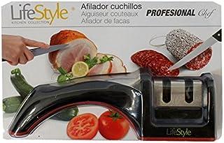 LifeStyle - Afilador de cuchillos profesional con base antideslizante