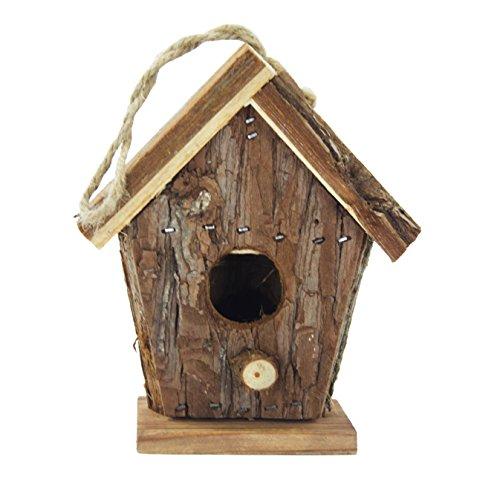 DARO DEKO Holz Vogelhaus zum aufhängen B: 14cm x 10cm x 16cm hoch