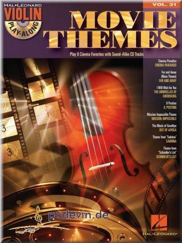 Movie Themes–Violin Play-Along–Violino Francaise