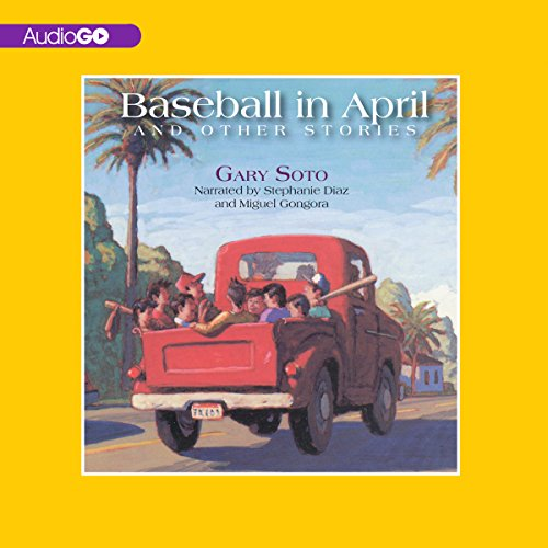 Baseball in April audiobook cover art