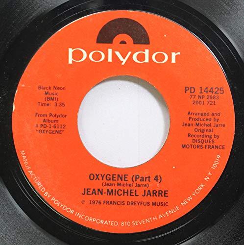 Jean-Michel Jarre 45 RPM Oxygene-Part 4 / Oxygene-Part 6