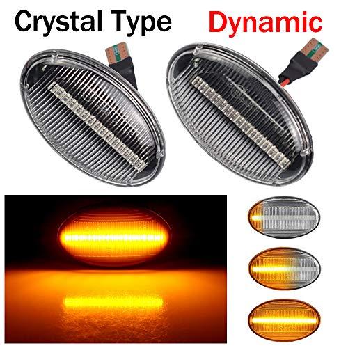 Linse Reinigen Dynamische Sequentielle LED Seitenblinker Blinker Laufeffekt Mercedes-Benz Smart W450 W452 A-Class W168 Vito W639 W447 Citan W415