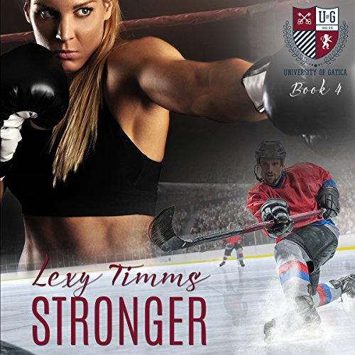 Stronger audiobook cover art