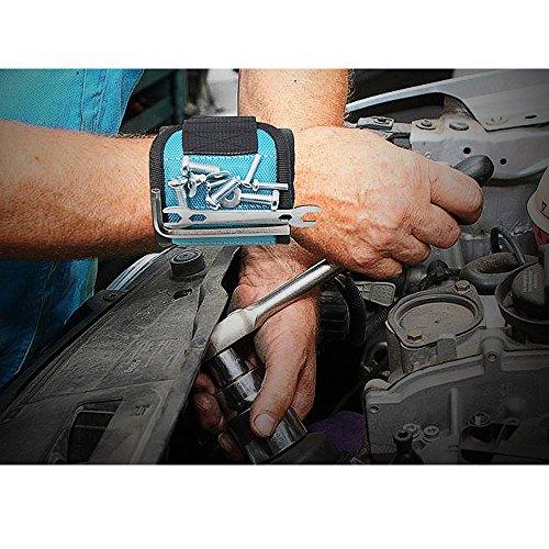 Bracelet magnétique, Blendx magnétique Bracelet Outil Ceinture avec aimants Super puissants pour...