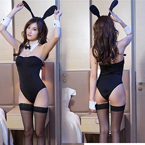 ZHANGNUO Lencera Sexy Sexual para Mujer Uniforme Seduccin Conejita Chica Disfraz Disfraz Jugando Ropa De Juego Talla nica/Bunny Girl en la Foto