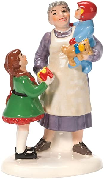 Department 56 Snow Village Grandma S Favorite Present Accessory Figurine