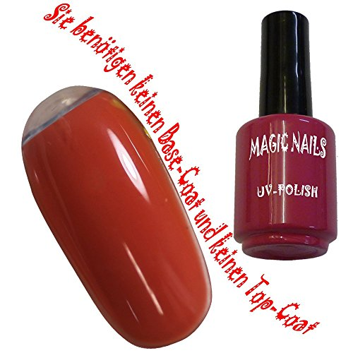 Magic Nails UV Polish Gel Soak Off Gel Orange-Crush - 12ml