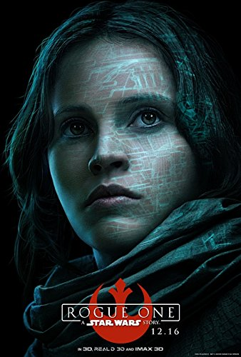Rogue ONE : A Star Wars Story – Jyn Erso - U.S Movie Wall Poster Print - 43cm x 61cm / 17 Inches x 24 Inches A2