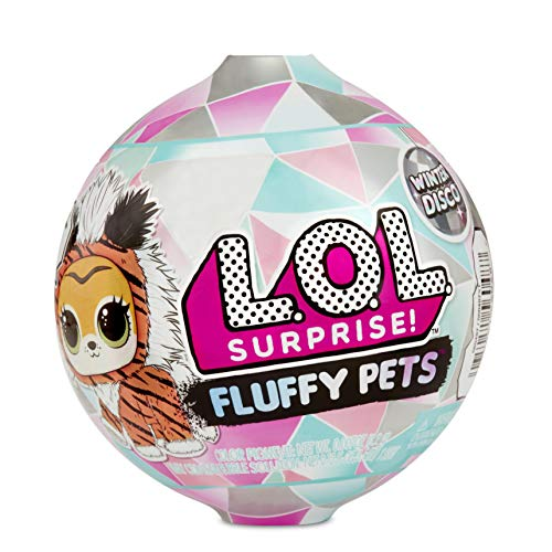 L.O.L. Surprise! Fluffy Pets Winter Disco Series with Removable Fur