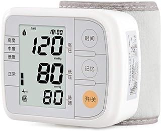 LTLGHY Tensiómetro De Muñeca, Tensiómetro De Brazo Automatico Digital, 2 Memorias De Usuario(2 * 120), Detección De Frecuencia Cardíaca Irregular, Validado Clínicamente