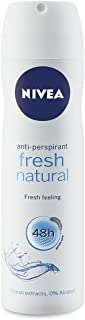 Nivea Fresh Natural Anti-Perspirant Spray 150 ml with Ayur Product in Combo