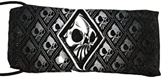 Wicked Sports Paintball Barrel Cover/Sock - Wicked Skulls - Gray