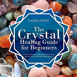 The Crystal Healing Guide for Beginners cover art