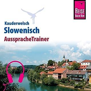 Slowenisch (Reise Know-How Kauderwelsch AusspracheTrainer) Titelbild