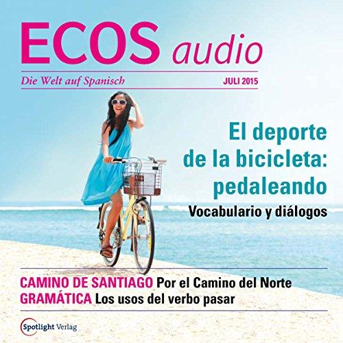 ECOS audio - El deporte de la bicicleta: pedaleando. 07/2015 audiobook cover art
