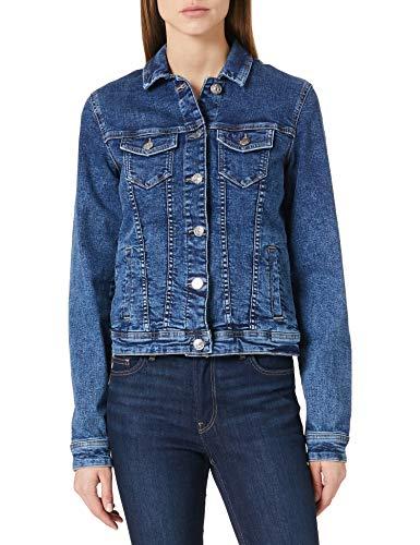 Only Tall ONLTIA DNM Jacket BB MB BEX02 Noos Tall Chaqueta de Jean, Medio De Mezclilla Azul, 36 para Mujer