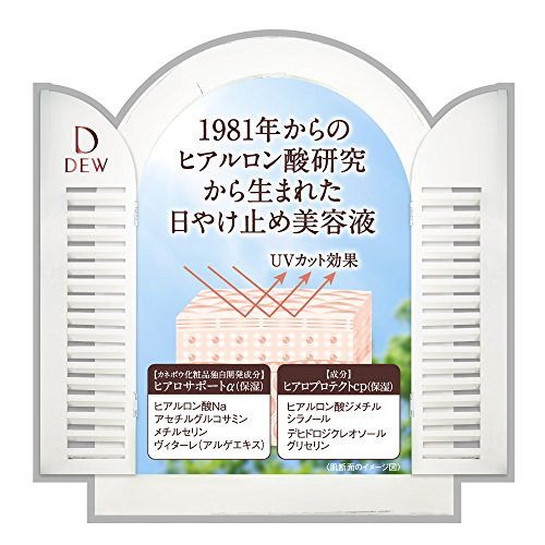 DEWUVデイエッセンス日中用UV美容液