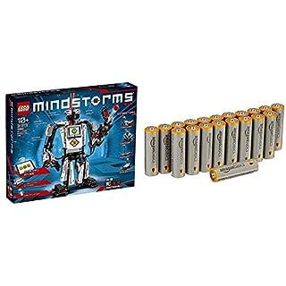 LEGO Mindstorms 31313 - EV3, Roboter-Bauset für Kinder & AmazonBasics Performance Batterien Alkali, AA, 20 Stück (Design kann von Darstellung abweichen) (B07KFPM4XG)   Amazon price tracker / tracking, Amazon price history charts, Amazon price watches, Amazon price drop alerts