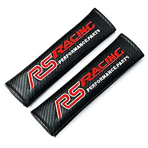 Racepace Carbon Fibre RS Racing Seat Belt Protector Pads.