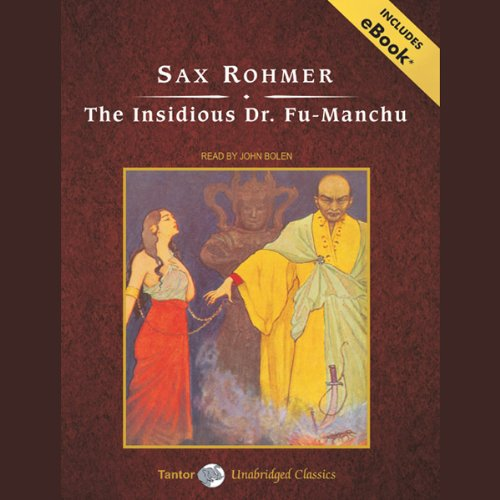 The Insidious Dr. Fu-Manchu cover art