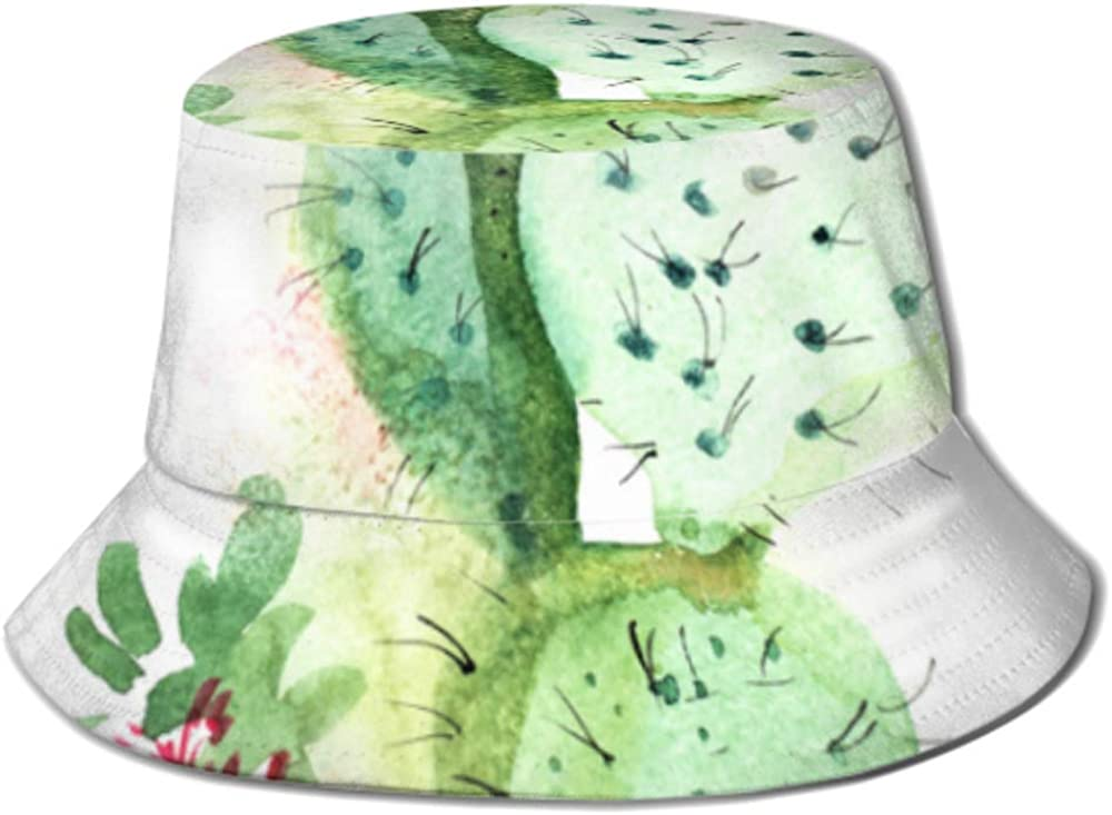 Sun Cap Spiky Cactus Bloom Bucket Women Hat Protec Men for Sale special Ranking TOP10 price