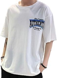 Tシャツメンズ 服 メンズ 夏メンズ tシャツ 半袖 男性 tシャツ tシャツ メンズ 五分袖 Tシャツ 七分袖 メンズtシャツ半袖 绵100% tシャツ夏服 メンズ 半袖 吸汗速乾 汗染み防止 カットソー Tシャツ 夏季対応 トップス X1107