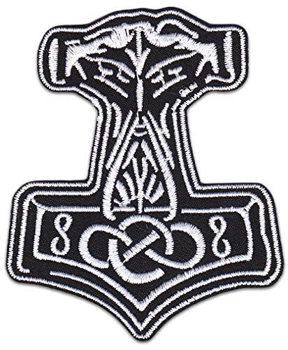 Parche para planchar con diseño de martillo de Thor, Thor,