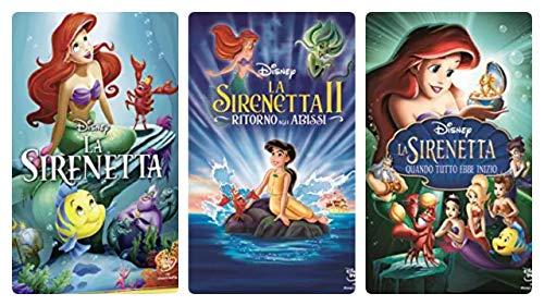 La sirenetta - la saga completa (3 dvd edizione italiana)