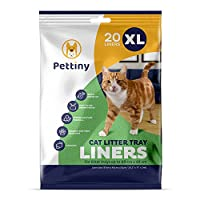 20 EXTRA LARGE LITTER TRAY LINERS — Pack of 20 individually folded XL cat tray liners 97 cm x 43 cm ideal for jumbo litter trays up to 60 cm x 48 cm and perfect for multi-cat households. Our environmentally conscious cat litter liners are made using ...