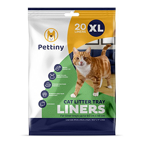 Pettiny Cat Litter Box Liners