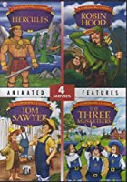Movie 4 Pack: Hercules / Robin Hood / Tom Sawyer / The Three Musketeers