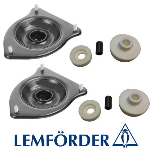 BMW Mini Cooper made after March 2002 - 2008 R50 Base | R52 Convertible | R53 S - Supercharged 1st Gen Models ( Excludes 2 Gen & R56 Clubman) Premium OE 4 Pc Front + Rear Upper LEMFÖRDER Strut Mounts