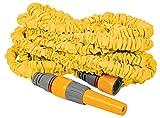 hozelock superhoze - tubo per acqua estensibile, 30 m, colore: giallo
