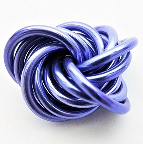 Möbii: Small Fidget Ball Stress Mobius Toy, Restless Hand Quiet for Office, School, Anxiety (Lavender)