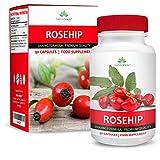 Rosa Mosqueta - 2000 mg - Extracto de Alta Concentración 20:1-90 Cápsulas (Suministro Para 3 Meses) de Earths Design