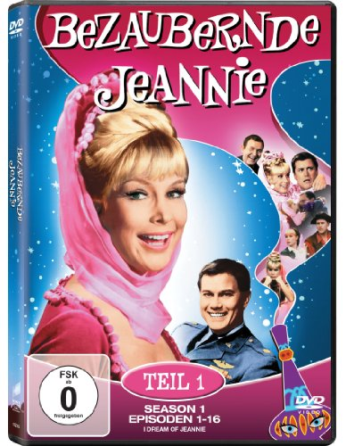 Bezaubernde Jeannie - Season 1.1 (2 DVDs)