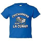 Camiseta niño Chicharrero desde la cuna Tenerife fútbol - Azul Royal, 9-11 años