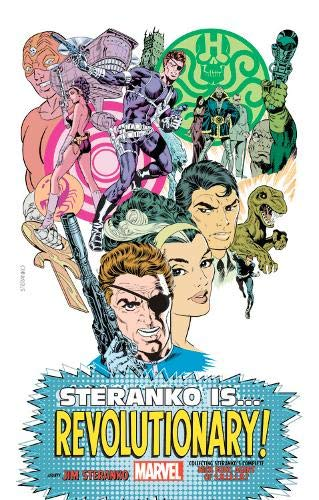 Compare Textbook Prices for Steranko is…Revolutionary! King-Size  ISBN 9781302922894 by Kirby, Jack,Steranko, Jim,Lee, Stan,Thomas, Roy