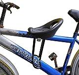 Bicicleta de Montaña Asiento Delantero para Niños Asientos Seguros para Bebés con Respaldo Negro con Respaldo y Pedales para Niños de 2 a 8 Años,Diameter