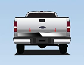 Tyger Auto Made in USA! Custom for 2004-2008 Ford F150 Flareside | Stepside Chrome Stainless Steel Tailgate Trim 6.26