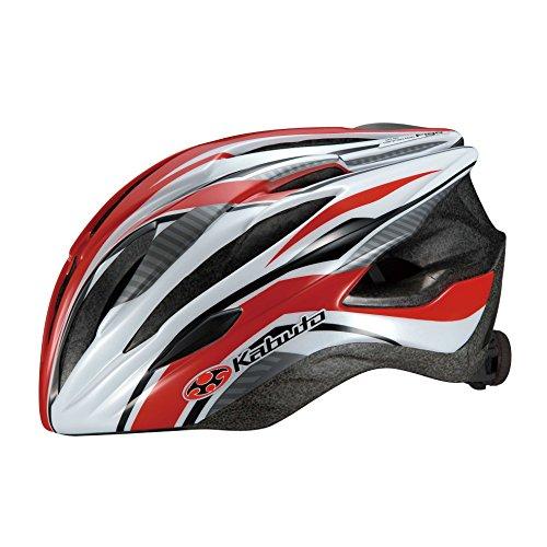 OGK KABUTO(オージーケーカブト) ヘルメット FIGO G-1レッド M/L (頭囲 57cm~60cm未満)
