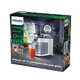 Philips HR1945/80 Slow Juicer, Entsafter für kaltes Pressen, maximale Nährstoffextraktion, weiß - 6