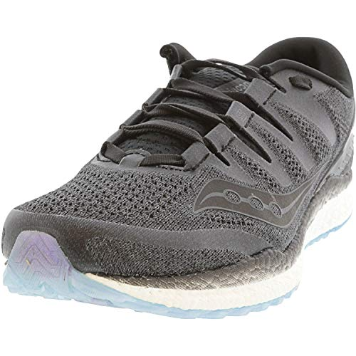 Saucony Men's Freedom ISO 2 Running Shoe, Black, 12 M US