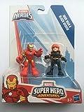 Playskool - Pack de 2 Figuras Marvel Hero Adventures Batalla (Hasbro A7109EU6)