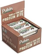 Pulsin 25g Mini Vanilla Choc Chip Protein Snack – Pack of 18