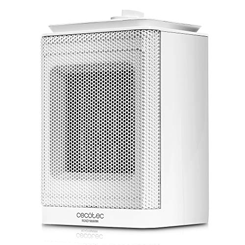 Cecotec Calefactor Baño Cerámico Ready Warm 6150 Ceramic Rotate Style. Oscilante, 1500...