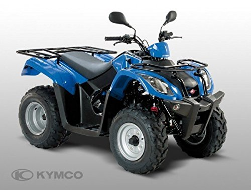 Kymco MXU 50, Farben:Schwarz