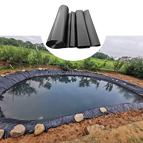 F-XW HDPE Teichfolie Gartenpoolmembran, Umweltfreundlich, 3 x 3 m, 4 x 7 m, 5 x 5 m, 6 x 8 m, 7 x 9 m
