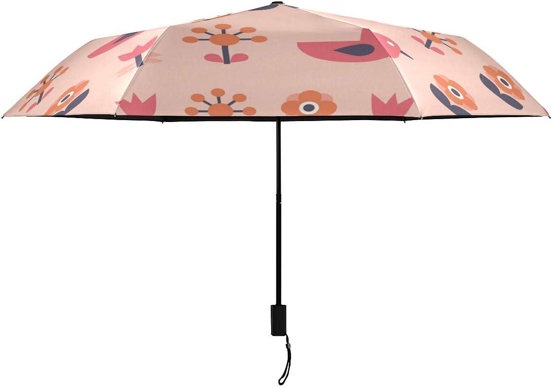 Bird Flowers Plants Parasol Umbrella Manu for Selling Regular discount rankings Girl Ladies Woman